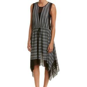 NWT BCBGMaxazria Handkerchief A-line Dress SM